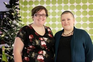 Systrarna pyssel, Mittmedia-journalisterna Elina Sneen och Sara Bjermert, återkommer i år med sin populära webbjulkalender