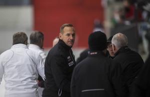 Michael Carlsson, Västerås SK:s tränare.
