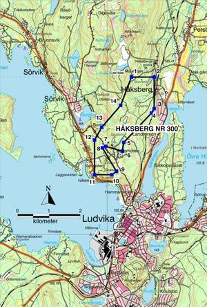Inmutning utvidgas. Lundin Mining har tidigare mutat in hela Håksbergsfältet och Väsman men utvidgar nu inmutningen väster om Ickorrbotten. Karta: Lundin Mining