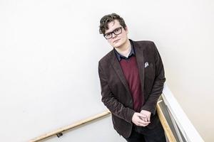 Tobias Olofsson, utbildningsledare på Folkuniversitetet i Jämtland.