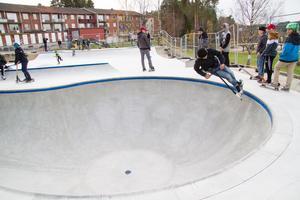 Det som började som en skatebowl har i slutändan blivit en skatepark.