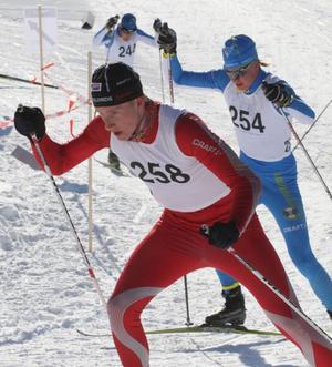 Simon Lagesson tog silver individuellt och i stafett vid JSM i Lycksele.