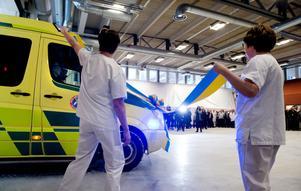 Det var en ambulans körd av akutens verksamhetschef Annika Berglund som fick äran att klippa bandet när Länssjukhuset invigde den nya akutkliniken igår.