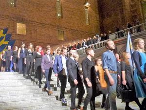 Gesäll- och mästarbrevsutdelningen 2016 i Blå hallen i Stockholm.
