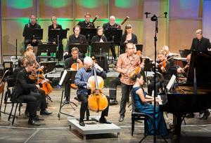 Åke Hedman, Gilles Apap och Mona Kontra i Beethovens sällan spelade trippelkonsert - huvudnummer vid höstens öppningskonsert.