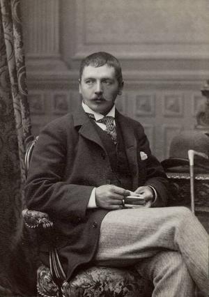 Fotografi av Anders Zorn taget på 1890-talet, när Morasonen stod på toppen av sin karriär.Foto: Johannes Jaeger/Zornmuseet