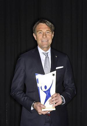 Håkan Ericson fick pris som årets ledare.