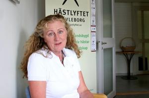 Länsstyrelsens hästkompetenscentrum Hästlyftet består än så länge av Mariana Femling.