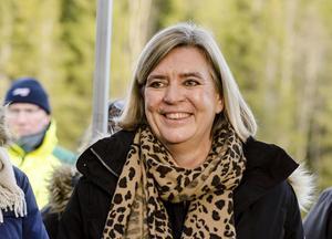 Helena Lindberg, gd för Myndigheten för samhällsskydd och beredskap  Foto: Ned Alley / NTB scanpix