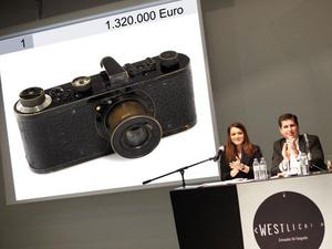 Dyra bilder. Priset på Leica-kameran sköt i höjden.