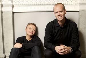Jan Bylund och Mattias Lundberg.
