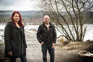 Romansen mellan Åsa Ekbrink och Andreas Malmquist har följts av många.