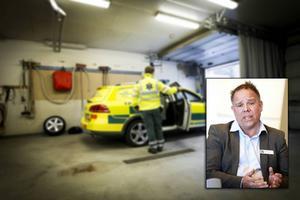 Jörgen Tranevik, verksamhetschef för ambulanssjukvården inom Region Gävleborg.