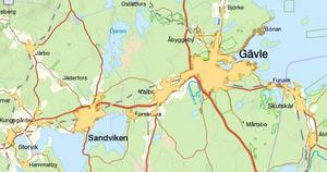 Det är otvetydigt att gränsen mellan Gävleborg och Uppsala län, och mellan Norrland och resten av Sverige är feldragen. Den avskiljer inte bara Harnäs från Skutskär utan delar också det tätortsområde som sträcker sig från Älvkarleby över Gävle till Sandviken med 107 000 invånare. En framtida storregiongräns kan inte rimligen gå där.