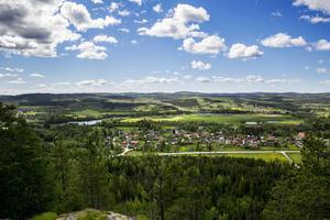 Djurmo klack i Gagnef reser sig efter riksväg 70/ E16 mellan Borlänge och Leksand. Berget ligger nära Djurmo, Djurås, Sifferbo, Bäckan och Bäsna. Du har två stigar att välja på för att ta dig till utsiktsplatsen; en brantare och en mer lättvandrad men längre. Djurmo klack bjuder på en vacker vy över en rätt stor del av Gagnefs kommun från en 200 meters höjd över Dalälven. Har du tur får du också en glimt en pilgrimsfalk, eftersom de häckar där.