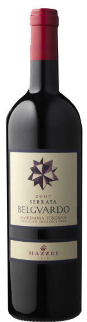 Serrata Belguerdo 2007Rött fynd. Mycket koncentrerat och gott rödvin från Toscana.
