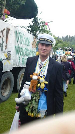 Ny student; Henrik Snell
