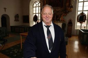 Harry Persson har varit kyrkvärd i över 20 år och han hoppas att bönmåndagen lever vidare.  Foto: Håkan Degselius