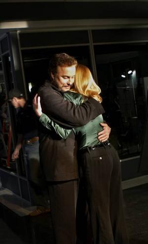 """TÅRFYLLT. Det blir tårfyllda avsked i måndagens """"CSI"""" när Gil Grissom (William Petersen) lämnar serien."""