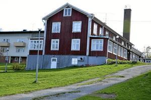 Nya Nyhyttan. Verksamheten på behandlingshemmet har upphört och nu kommer konkursboet att sälja fastigheterna.Foto: Thomas Eriksson