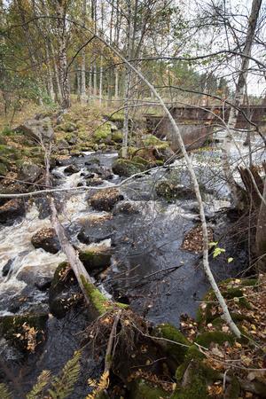 I Storån fanns det som mest fem små kraftverk .