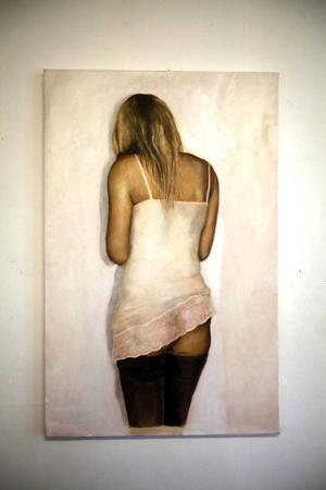 En målning ur Alva Willemarks serie