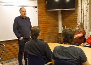 På måndagen fick Ljusdal besök av Jonas Sjöstedt som bland annat pratade om välfärd och ojämlikhet.