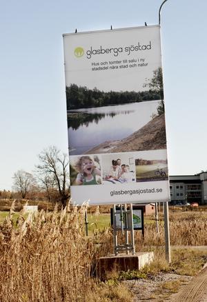 Framtid. Kommunen och Glasbergabolaget satsar nu på att de kommande etapperna i byggandet ska bli mer välordnade.