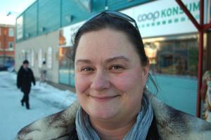 Sofie Olausson, Strömsund– Jag får bättre livskvalitet här. Här kan man få mycket mer för pengarna. På andra ställen skulle vi inte ha råd att bo som vi gör.