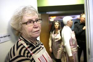 –Det här är toppen. Nu blir vi fler som kan hjälpa till så att vi kan  utöka serveringen. Det här är en viktig verksamhet för de mest utsatta i Gävle, sägerGudrun Sjölund, diakon i Korskyrkan.