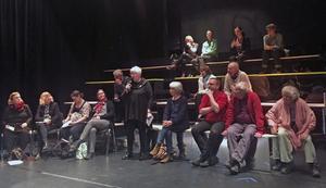 Under den första samtalskvällen delade västmanlänningar med sig av sina minnen av branden.