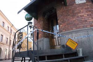 CC-puben eldhärjades under fredagskvällen.