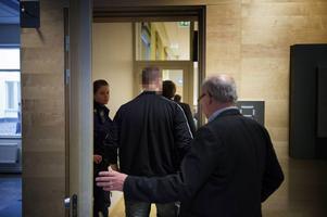34-åringen i Södertörns tingsrätt i mars, där han var åtalad misstänkt för ofredande.