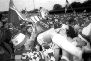 Degerfors IF vann svenska cupen 1993. Arkivfoto: Joakim Roos/TT