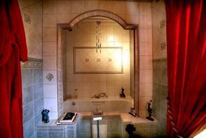 Renoveringen av badrummet gav hon sig själv i födelsedagspresent.