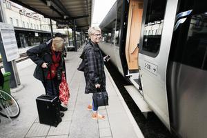 Anette Sved från Ljusdal åkte till Stockholm på kurs. 315 kronor betalade hon för biljetten från Gävle med 16-tåget på onsdagen.