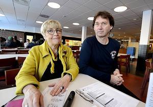 Inga-Lisa Svanstedt och Olle Blixt tycker att det är viktigt att eleverna ska få hälsa och livsstil i skolan.