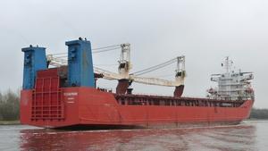 Ocean Pride anlöper Härnösands hamn i slutet av månaden.