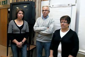 Birgitta Malmgren, Sören Persson och Elisabeth Röjd har kämpat för att deras anhöriga ska få bo kvar. Ovissheten har varit värst och dementa ska man inte flytta, sade de.