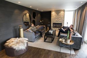 Markus Näslund och hans familj bor i Örnsköldsvik men har skaffat lägenhet i Åre.