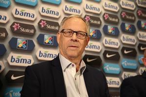 Lars Lagerbäck presenterades under onsdagen som ny förbundskapten för Norge.