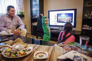 Mohammad Al-khalaf vill sjunga och att Abdullah ska dansa.