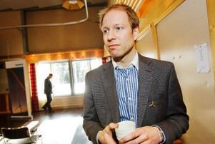 Gabriel Duveskog är näringslivssamordnare för vindkraft i länet.
