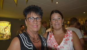 Lena Näslund, nyvald ordförande för Scenkonst Västernorrland tillsammans med dottern Malin Sahlén, grundskollärare.