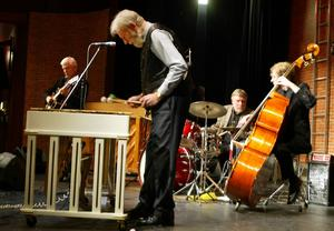 Lennart Englins jamgrupp under Trettondagsjazzen 2006, ett av Gävle Jazzclubs arrangemang.