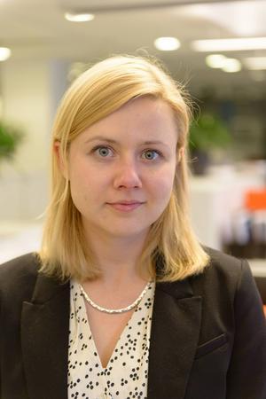 Helena Nilsson, doktorand på HUI Research.