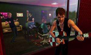 Rockband? Nej, Sims 3...  Det går tydligen att vara rockstjärna också i det nya spelet i den framgångsrika spelserien.