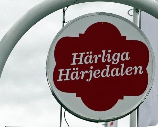För många är det svårt att se att Härjedalens kommuns logga föreställer en barfre.
