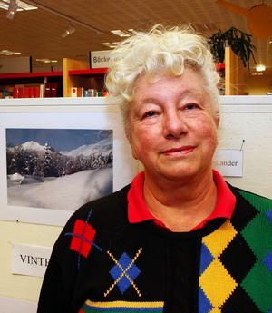 Lanskap under olika årstider är ett av Margareta Nordlander favoritmotiv.