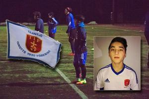 Fjortonårige Faizan Ali vill ta plats i Tärnsjös A-lag.